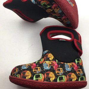 Bogs Baby Bootie Shoes Kiddy Car Multi 52970 Sz8,9